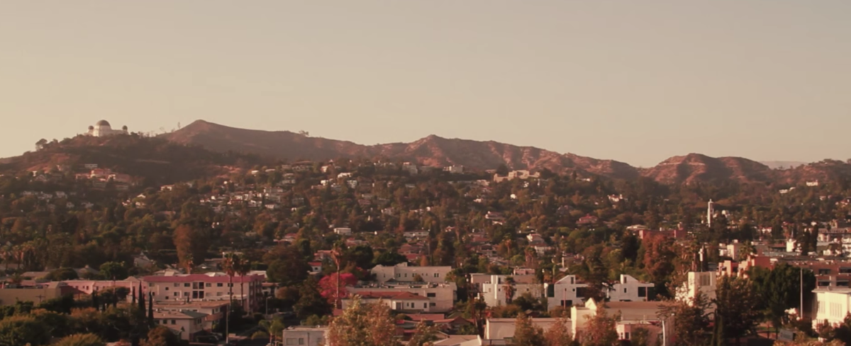 Hill in Los Angeles